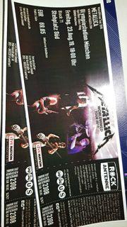 2 Tickets METALL I CÄ