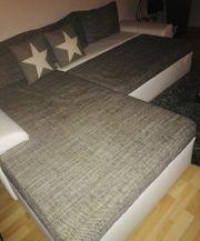 Weiße Couch Leder