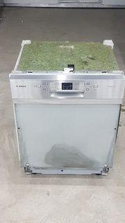Bosch Spülmaschine Teilintegriert Edelstahl A