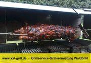 Mobiler Spanferkelgrill NRW Oberberg Westerwald