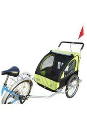 Fahhrradanhänger für 2 Kinder selten