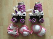 Rollschuhe Rollerskates Größe 28-31 Schützer