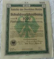 Biete Schuldverschreibung des Deutschen Reich