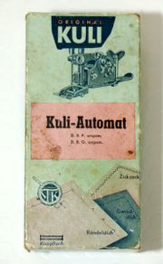 Kuli-Automat zum Zickzack Knopfloch nähen
