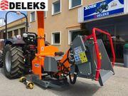 DELEKS® DK-1800-IDR Holzhäcksler Schredder mit