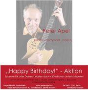 Happy Birthday Aktion 4x Unterricht