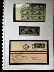USA Briefmarken Lindbergh Air Mail