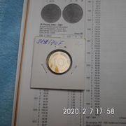 D-Mark 10 Pfennig 1970 F