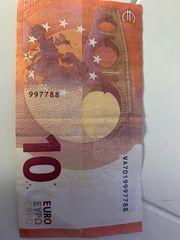 Euroschein für Sammler
