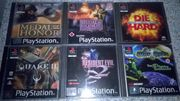 Play Station 1 - 18 spiele