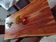 Esstisch Massivholz mit 6 Stühlen