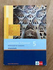Mathematik-Arbeitsheft Lambacher Schweizer Klasse 5