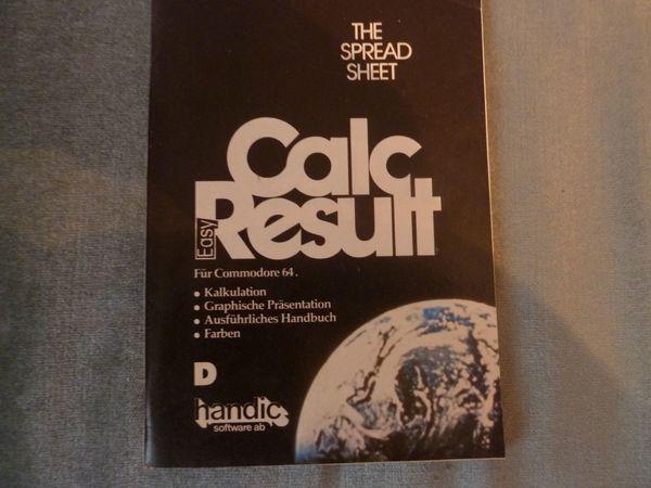 Commodore 64 Easy Calc Result