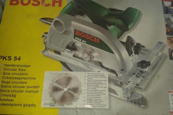 Handkreissäge Neu Bosch