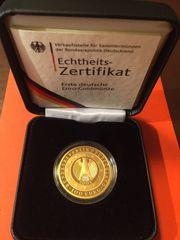100 Euro Gold Deutschland Währungsunion