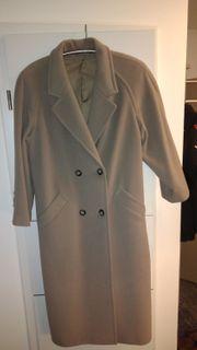 Damen-Mantel - New Fast - beige Gr