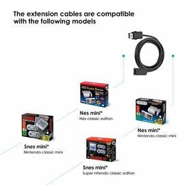 Nintendo, Gerät & Spiele - Nintendo Mini NES SNES Verlängerungskabel