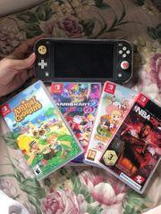 Nintendo Switch mit 4spielen