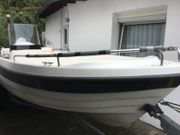 Motorboot admiral 470 inclusive trailer