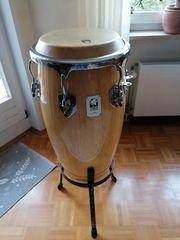 Gut erhaltene Conga-Trommel Marke Toca
