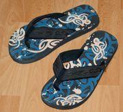 Blaue Flip Flops - Größe 40 - 41