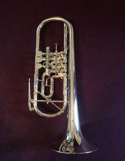 Profi-Orchesterinstrument Josef Monke C-Trompete gebraucht