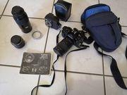 Canon A1 Spiegelreflexkamera analog