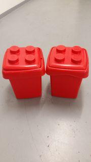 Lego Kiste Box Aufbewahrung rot