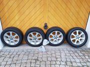 4 x Skoda AlufelgenBridgestone Reifen195