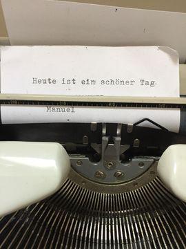 TIPPA Reise - Schreibmaschine TIPPA von: Kleinanzeigen aus Starnberg - Rubrik Büromaschinen, Bürogeräte