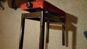 Stabile Klavier Sitzbank höhenverstellbar