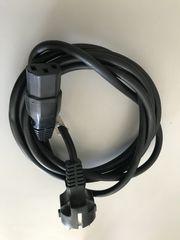 Computer-Stromkabel schwarz