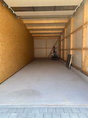 Großraumgarage - Garage für Wohnmobil - Boot -