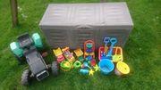 Spielzeug für Sandkasten Traktor