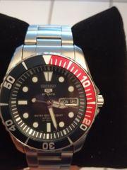 Seiko 5 Herren Armbanduhr Sea