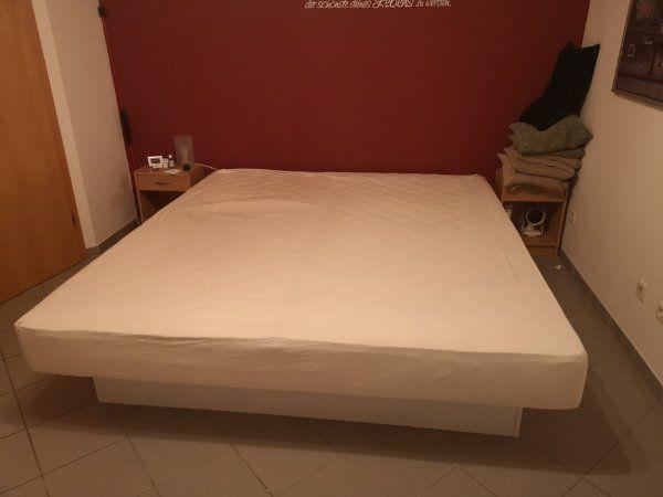 Dual Softside Wasserbett Kuss 200x220 Cm Inkl Weißem