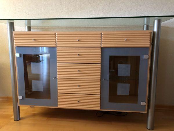 Sideboard Buche Alu Glas In Arnsberg Sonstige