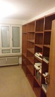 Regalwand - Bücherregal Hülsta Echtholz