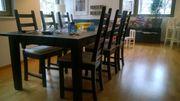 Esstisch STORNÄS und 6 Stühle