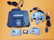 Nintendo 64Spiel konsolen mit 2
