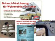 Wohnmobil Einbruchschutz - NEU
