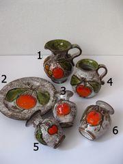 Vintage Vase Kanne Henkelkanne Henkelvase