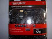 HDMI Kabel 3m Neu