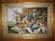 Gobelinbilder alle Handarbeit von 10x15cm