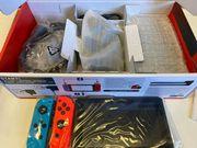 Nintendo Switch Rouge NéonFluo Bleu