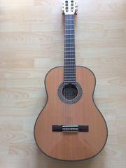 Sehr gut erhaltene Klassische Gitarre