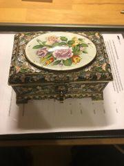 Schmuckdose Silber 84 Vergoldet 1837