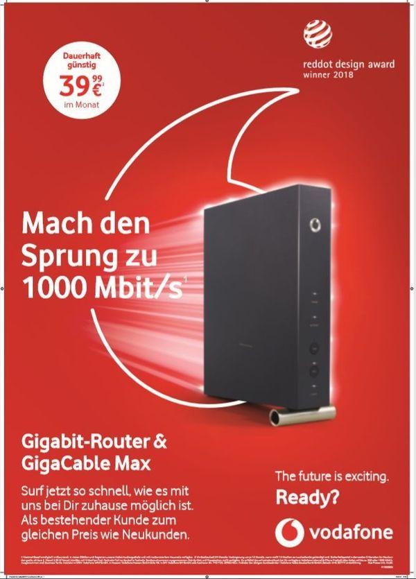 1000 Mbit Red Internet Phone