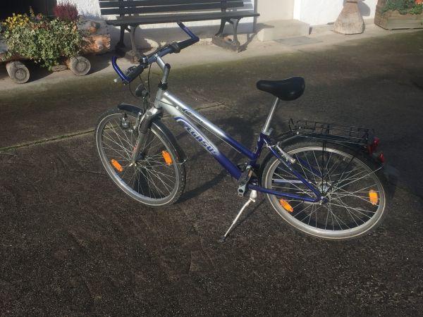 Kinder oder Jugendrad 26 Zoll - Kirchardt - 7 gangschaltung mit Rückdritt voll funktionsfähig - Kirchardt