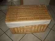 Wäsche-Korb Wäsche-Truhe Weiden-Korb Wäsche-Sammler für